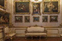 Kunstzalen in Sanssouci Stock Foto