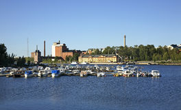 Kuntsi museum in Vaasa. Finland Royalty Free Stock Photography