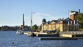 Kuntsimuseum in Vaasa finland Stock Afbeelding