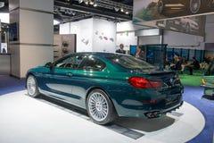 Kupé för BMW ALPINA B6 Bi-turboladdare upplaga 50 Arkivbild