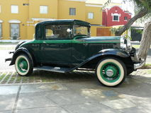 Kupén för fönstret för Plymouth PA 3 producerade i 1932 Arkivbild