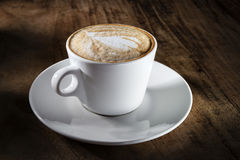 Kupa av cappuccino Arkivbilder