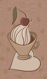 Kupa av cappuccino Royaltyfri Bild