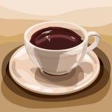 Kupa av choklad Royaltyfria Foton