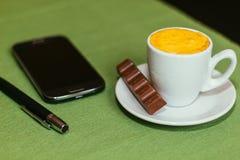 Kupa av coffe Royaltyfria Bilder