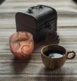 Kupa av coffe Arkivbild