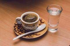 Kupa av espresso Arkivfoto