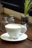 Kupa av hoat kaffe Royaltyfria Foton