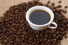 Kupa av kaffe Arkivbilder