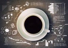 Kupa av kaffe Royaltyfri Foto