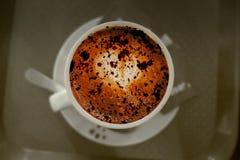 Kupa av kaffe Fotografering för Bildbyråer