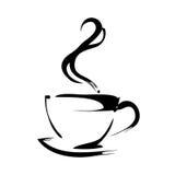 Kupa av kaffe vektor illustrationer