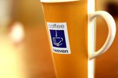 Kaffehimmel Arkivbild