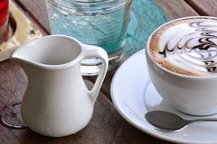 Kupa av kaffe Arkivbild