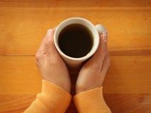 Kupa av Tea Fotografering för Bildbyråer