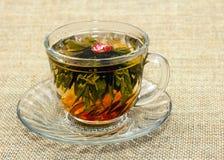 Kupa av kinesisk tea Arkivbilder