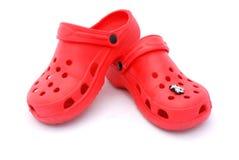 kupa czerwone buty. Fotografia Stock