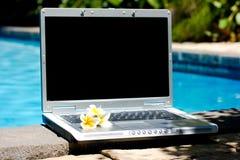 kupa laptopa komputerowy kurort Zdjęcia Royalty Free