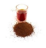 Kupa med tea Arkivfoton