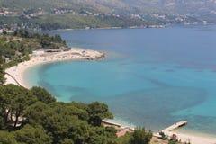 Kupari beach croatia Royalty Free Stock Image