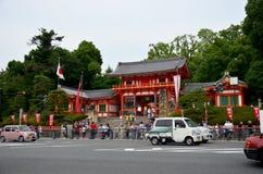 Kupczy drogę z japończykami i podróżnika obcokrajowa odprowadzeniem Obraz Stock