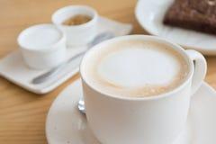 Kuper av kaffe Arkivfoton