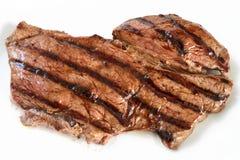 kuperu piec na grillu stek Zdjęcie Royalty Free