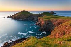 Kuperu punkt Cornwall Obrazy Royalty Free