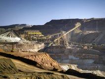 Kupfermine stockfotos