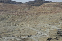 Kupfermine 2 stockfoto