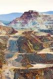 Kupfermine Stockfoto