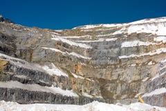 Kupfermine Lizenzfreies Stockfoto