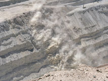 Kupfermine in Chile Lizenzfreies Stockbild