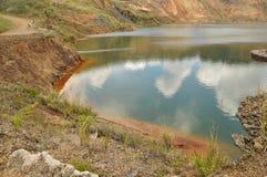 Kupfermine Mamut, Sabah, Malaysia Lizenzfreie Stockbilder