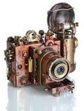 Kupferne Fotokamera. Lizenzfreie Stockbilder