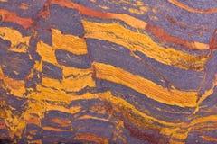 Kupferne Gebirgsjaspisplatte stockfotografie