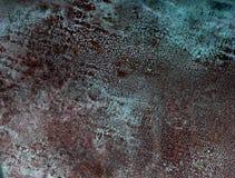 Kupferne Platte, Beschaffenheit Lizenzfreies Stockfoto