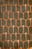 Kupferner Art Deco-Hintergrund Lizenzfreie Stockfotografie