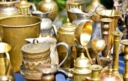 Kupferner Cookware Lizenzfreies Stockbild