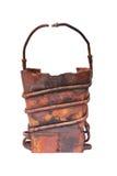 Kupferner Korb Stockbild