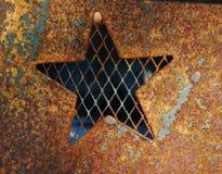Kupferner Stern Stockbild