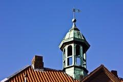 Kupfernes Dach Stockbild