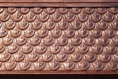 Kupfernes Dach Lizenzfreies Stockfoto