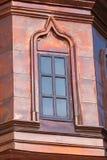Kupfernes Fenster Stockbild
