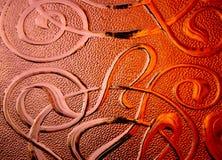Kupfernes Muster lizenzfreie stockbilder