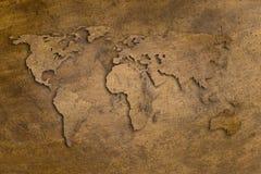 Kupfernes Wort Stockbilder