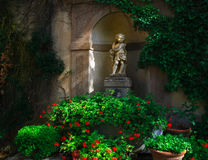 Kupidonstaty Tuscany Royaltyfria Bilder