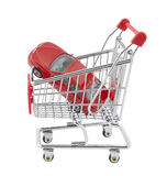 kupienia samochodowy ścinek zawierać nowa ścieżka Obraz Royalty Free