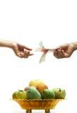 kupienie owoc Fotografia Stock