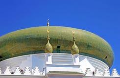 Kupol av Al-Salam Mosque och den arabiska kulturella mitten, Odesa, Ukraina Fotografering för Bildbyråer